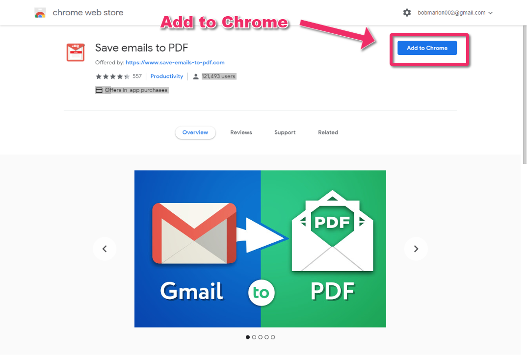Getting started with Save Emails to PDF – cloudHQ Support